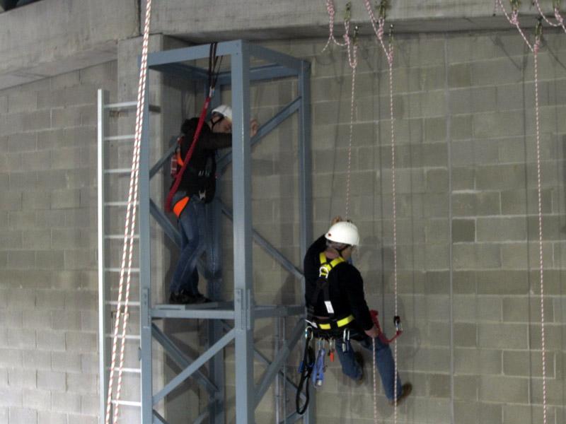 Curso trabajos verticales Fall Protec